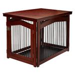 View Image 1 of 2 in 1 Configurable Pet Crate and Gate