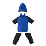 View Image 1 of 2 in 1 Dog Snowsuit - Blue