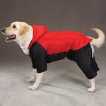 View Image 1 of 2 in 1 Dog Snowsuit - Red
