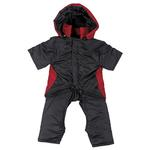 View Image 3 of 2 in 1 Dog Snowsuit - Red