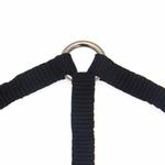 View Image 3 of 3-Way Coupler Leash by Zack & Zoey - Jet Black