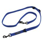 View Image 5 of 6 Way Multi-Function Dog Leash by Doggie Design - Cobalt Blue