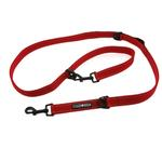 View Image 1 of 6 Way Multi-Function Dog Leash - Red