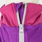 View Image 7 of Pet Life ACTIVE 'Embarker' Performance Full-Body Dog Warm Up Suit - Lavender and Pink