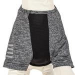 View Image 8 of Pet Life ACTIVE 'Hybreed' Two-Toned Performance Dog T-Shirt - Black and Gray