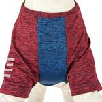 View Image 3 of Pet Life ACTIVE 'Hybreed' Two-Toned Performance Dog T-Shirt - Blue and Maroon