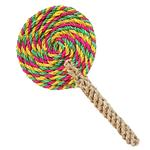 View Image 1 of ABACA-DABRA Lollipop Dog Toy from WaLk-e-Woo