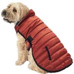 View Image 1 of Acadia Puffer Dog Coat - Copper