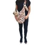 View Image 2 of Fur Baby Adjustable Sling Bag Dog Carrier - King Cheetah