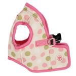 View Image 1 of Affera Pinka Wrap Dog Harness by Pinkaholic - Ivory