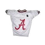 View Image 1 of Alabama Crimson Tide Dog Jersey - White