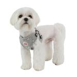 View Image 2 of Algo Adjustable Step-In Dog Harness by Puppia - Gray