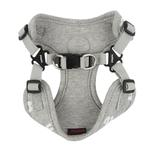 View Image 3 of Algo Adjustable Step-In Dog Harness by Puppia - Gray