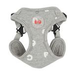 View Image 1 of Algo Adjustable Step-In Dog Harness by Puppia - Gray