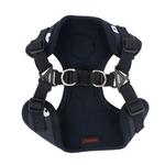 View Image 3 of Algo Adjustable Step-In Dog Harness by Puppia - Navy