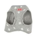 View Image 3 of Algo Dog Harness Vest by Puppia - Gray