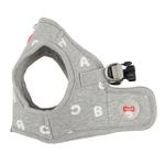 View Image 4 of Algo Dog Harness Vest by Puppia - Gray