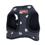 View Image 3 of Algo Dog Harness Vest by Puppia - Navy