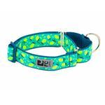 View Image 1 of All Webbing Martingale Dog Training Collar - Lemonade