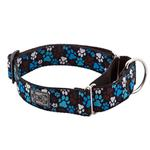View Image 1 of All Webbing Martingale Dog Training Collar - Pitter Patter Chocolate