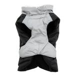 View Image 3 of Alpine All-Weather Dog Coat by Doggie Design - Black and Gray