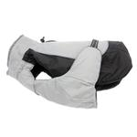 View Image 1 of Alpine All-Weather Dog Coat by Doggie Design - Black and Gray