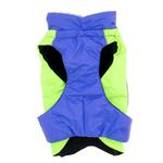 View Image 3 of Alpine All-Weather Dog Coat by Doggie Design - Blue and Green