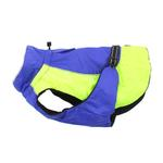 View Image 5 of Alpine All-Weather Dog Coat by Doggie Design - Blue and Green