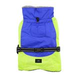 View Image 4 of Alpine All-Weather Dog Coat by Doggie Design - Blue and Green