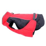 View Image 2 of Alpine All-Weather Dog Coat by Doggie Design - Red and Black