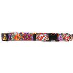 View Image 1 of Amazon Floral Dog Collar by Yellow Dog