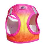 View Image 3 of American River Choke-Free Dog Harness by Doggie Design - Raspberry and Orange Sorbet Ombre