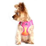 View Image 1 of American River Choke-Free Dog Harness by Doggie Design - Raspberry and Orange Sorbet Ombre