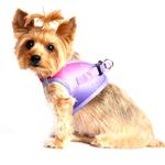 View Image 2 of American River Choke-Free Dog Harness by Doggie Design - Raspberry Sundae Ombre