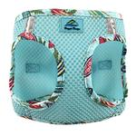 View Image 1 of American River Hawaiian Trim Choke-Free Dog Harness by Doggie Design - Aruba Blue