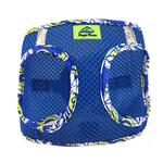 View Image 1 of American River Hawaiian Trim Choke-Free Dog Harness by Doggie Design - Cobalt Blue