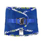 View Image 2 of American River Hawaiian Trim Choke-Free Dog Harness by Doggie Design - Cobalt Blue