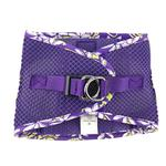 View Image 4 of American River Hawaiian Trim Choke-Free Dog Harness by Doggie Design - Paisley Purple