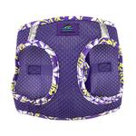 View Image 5 of American River Hawaiian Trim Choke-Free Dog Harness by Doggie Design - Paisley Purple