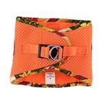 View Image 3 of American River Hawaiian Trim Choke-Free Dog Harness by Doggie Design - Sunset Orange