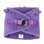 View Image 2 of American River Choke-Free Dog Harness by Doggie Design - Purple Polka Dot