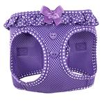 View Image 1 of American River Choke-Free Dog Harness by Doggie Design - Purple Polka Dot