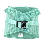 View Image 2 of American River Choke-Free Dog Harness by Doggie Design - Teal Polka Dot