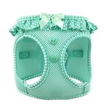 View Image 1 of American River Choke-Free Dog Harness by Doggie Design - Teal Polka Dot
