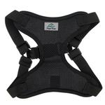 View Image 2 of Wrap and Snap Choke Free Dog Harness by Doggie Design - Black