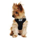 View Image 1 of Wrap and Snap Choke Free Dog Harness by Doggie Design - Black