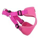View Image 4 of Wrap and Snap Choke Free Dog Harness by Doggie Design - Candy Pink