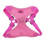 View Image 2 of Wrap and Snap Choke Free Dog Harness by Doggie Design - Candy Pink