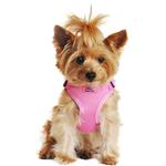 View Image 1 of Wrap and Snap Choke Free Dog Harness by Doggie Design - Candy Pink