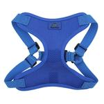 View Image 2 of Wrap and Snap Choke Free Dog Harness by Doggie Design - Cobalt Blue
